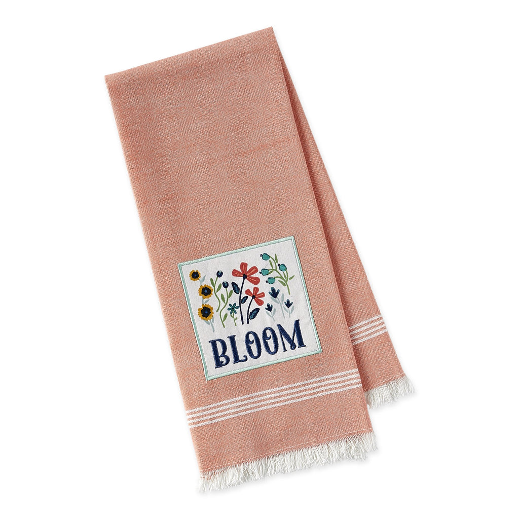 Bloom Embellished Dishtowel - DII Design Imports