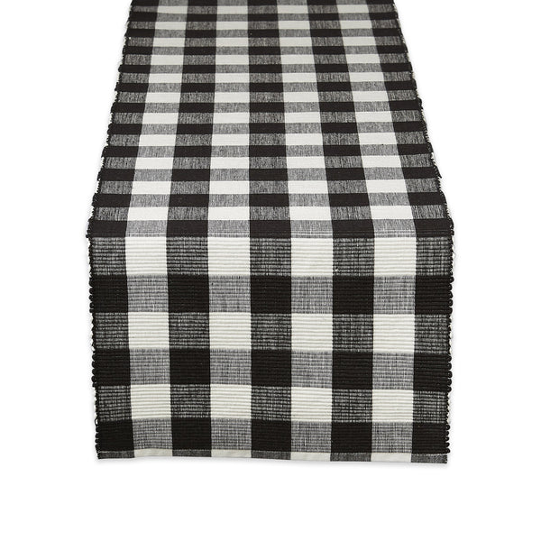 Farmhouse Buffalo Check Table Runner - DII Design Imports