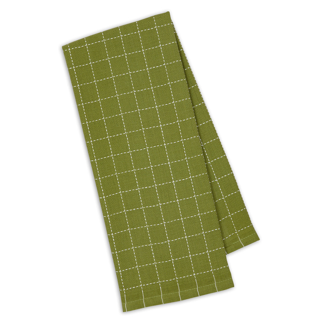 Parsley Green Dobby Dishtowel - DII Design Imports