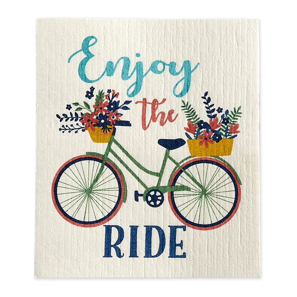 Enjoy the Ride Swedish Dishcloth - DII Design Imports