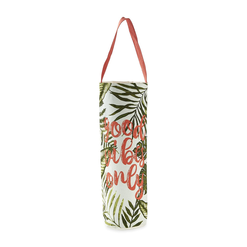 Good Vibes Only Bottle Tote - DII Design Imports