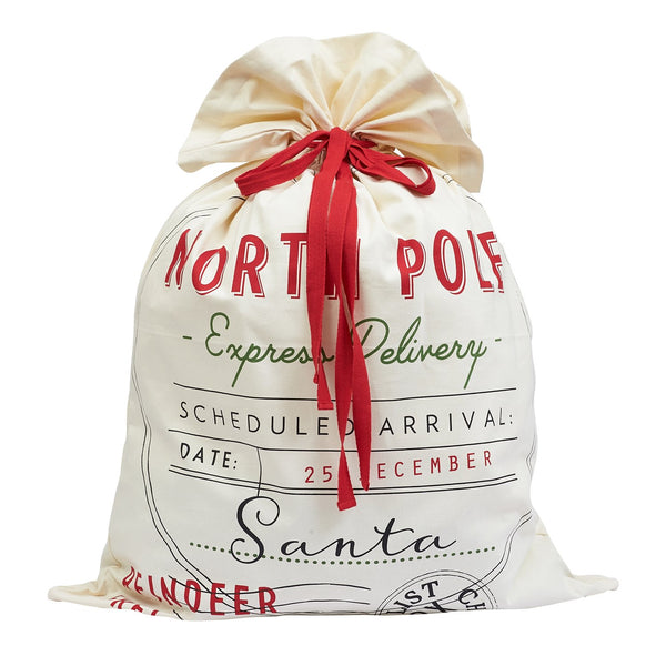 Express Delivery Santa Bag