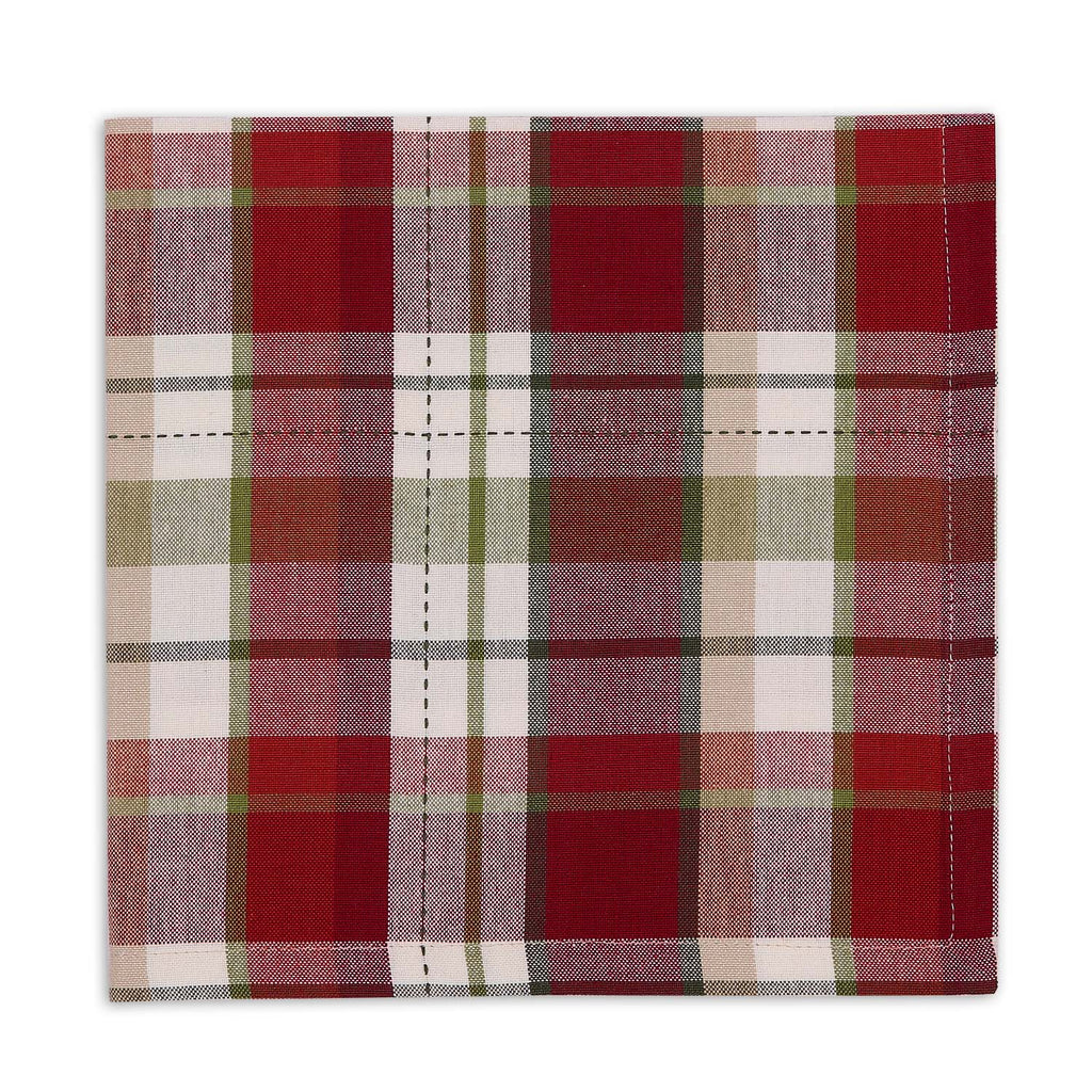 Mountain Trail Plaid Napkin - DII Design Imports
