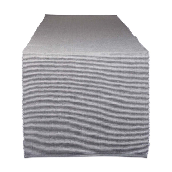 Dove Gray Table Runner - DII Design Imports