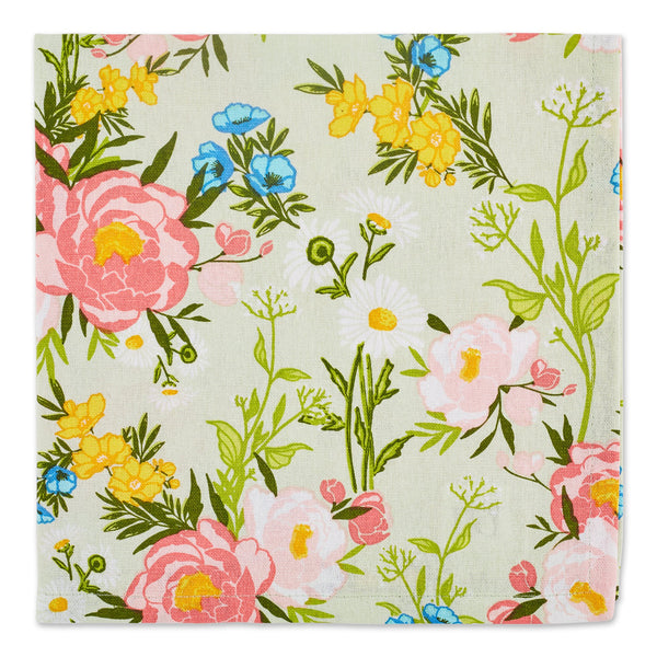 SPRING BOUQUET PRINTED NAPKIN