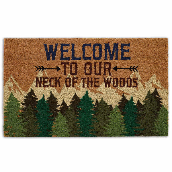 Welcome Woods Doormat
