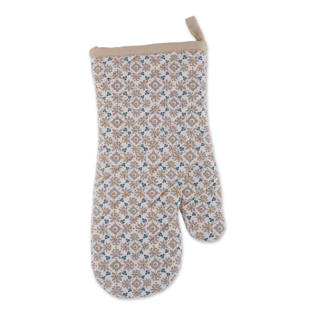 DELICIOUS KITCHEN PRINT OVEN MITT