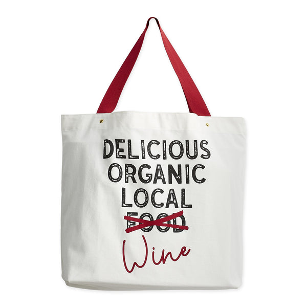 Delicious Wine Tote - DII Design Imports