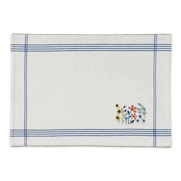 Lil Flower Garden Embellished Placemat