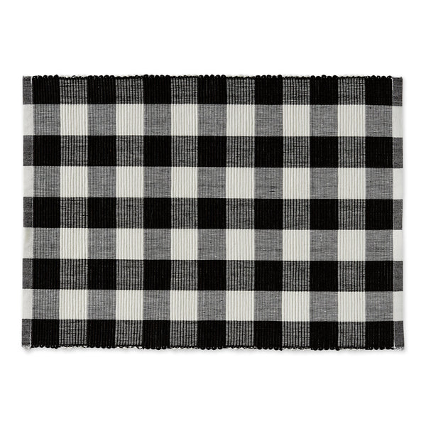 Farmhouse Buffalo Check Placemat - DII Design Imports