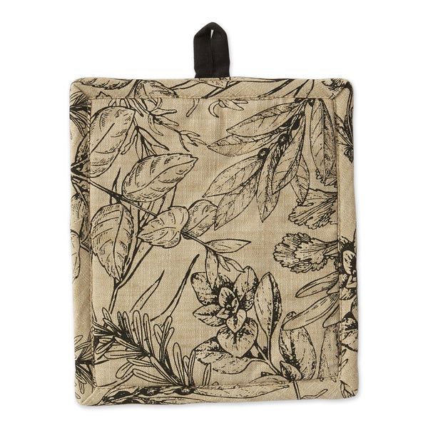 Fresh Herbs Printed Potholder - DII Design Imports