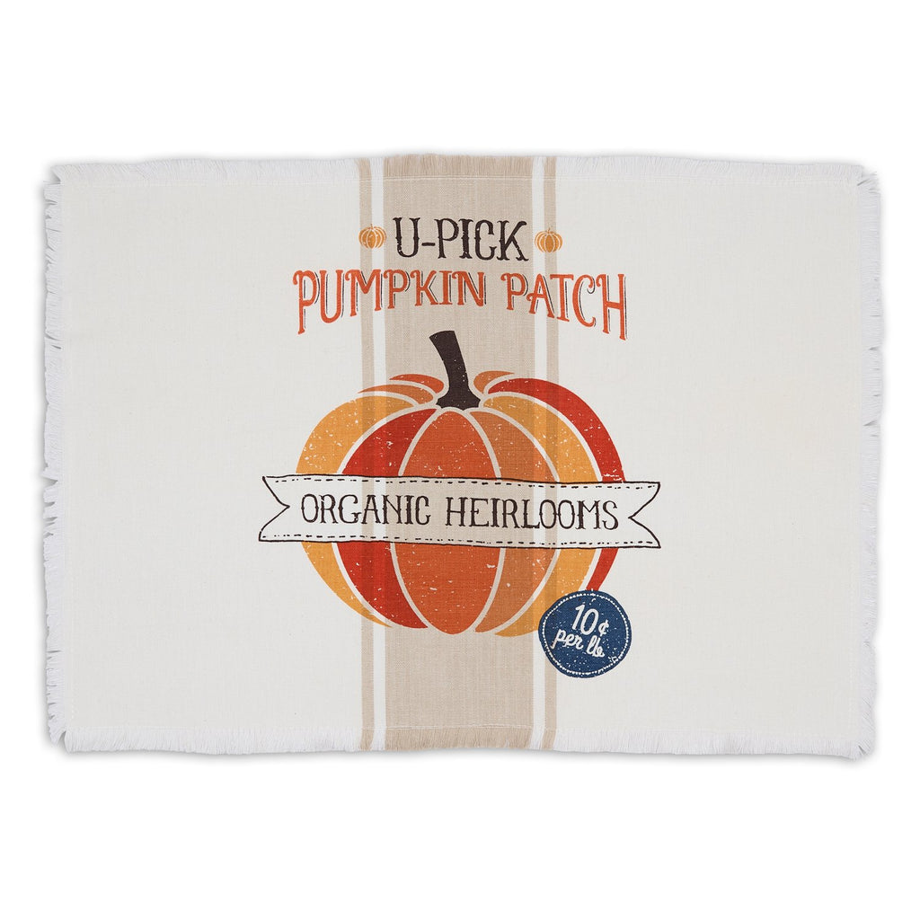 Pumpkin Patch Printed Placemat