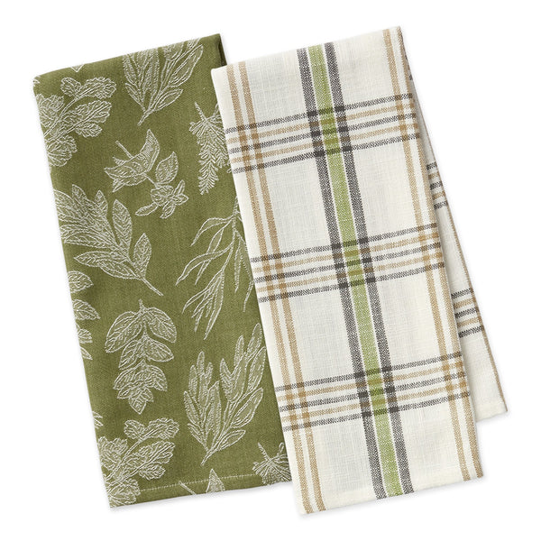 Fresh Herbs Dishtowel Set of 2 - DII Design Imports
