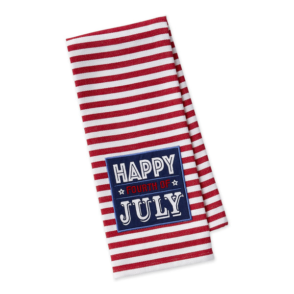 Happy Fourth Embellished Dishtowel - DII Design Imports