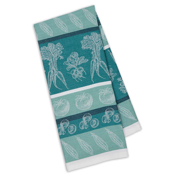 North Sea Veggies Jacquard Dishtowel