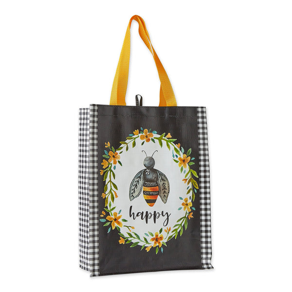 BEE HAPPY REUSEABLE TOTE