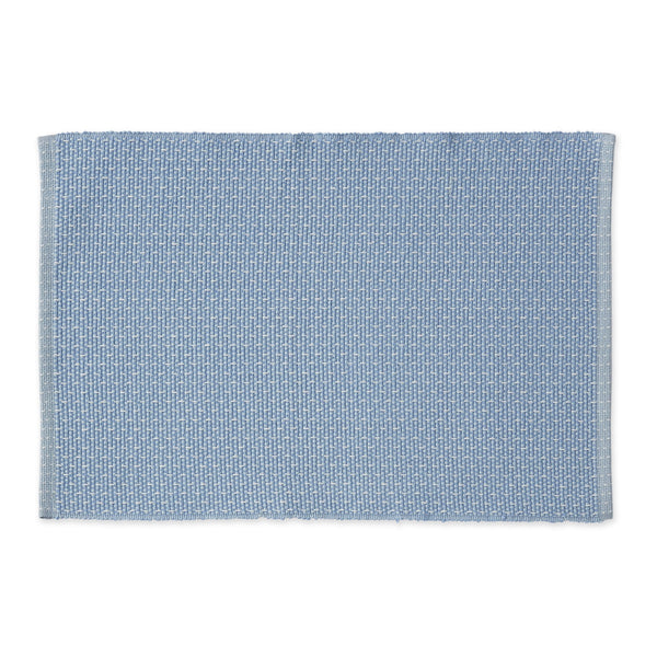 True Blue Dobby Stripe Placemat - DII Design Imports