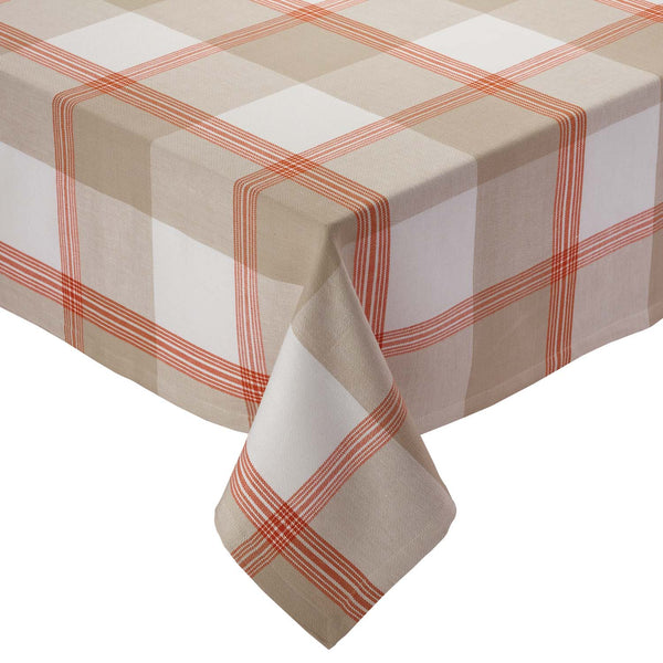 Harvest Picnic Plaid Tablecloth