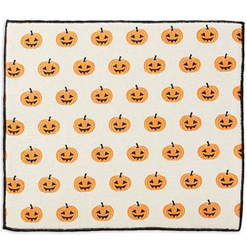 Jack O' Lanterns Dish Drying Mat