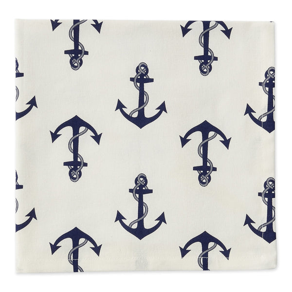 Anchors Printed Napkin - DII Design Imports