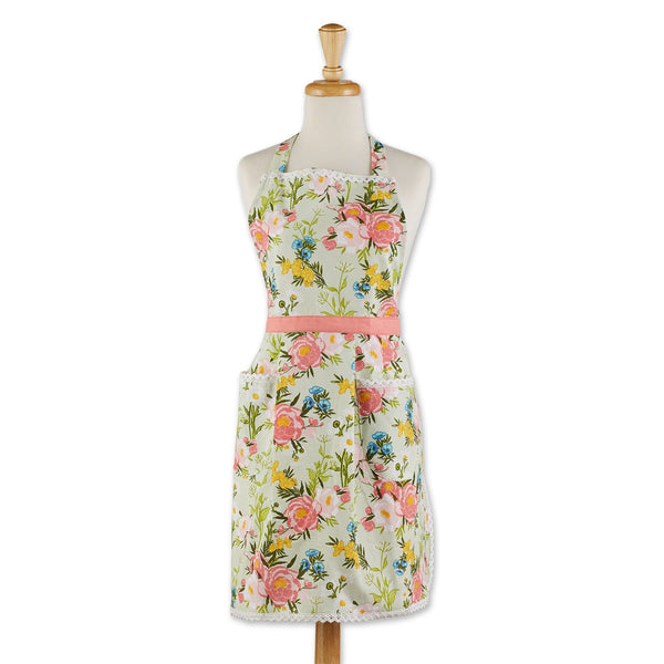 SPRING BOUQUET PRINTED APRON
