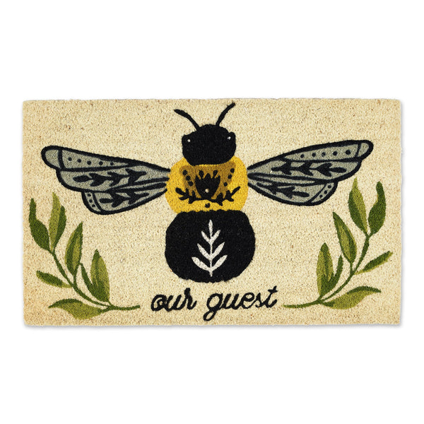 BEE OUR GUEST DOORMAT