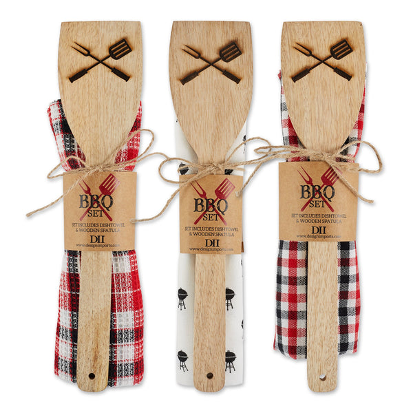 BBQ DT + SPATULA GIFT SET MIXED PACK