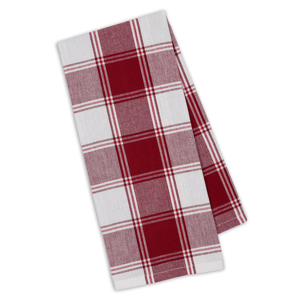 Garnet Picnic Plaid Dishtowel