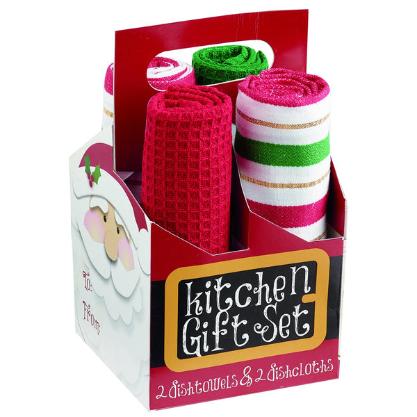 Here Come's Santa! Kitchen Gift Set