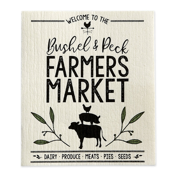 Farmers Market Swedish Dishcloth - DII Design Imports