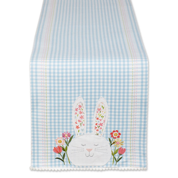 HAPPY BUNNY PRINTED TABLE RUNNER