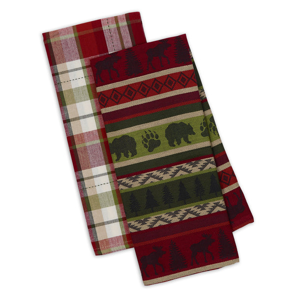 Mountain Woods Dishtowel Set of 2