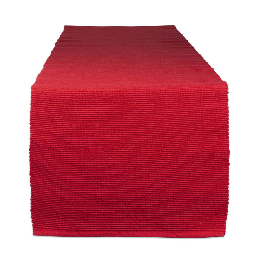 Tango Red Table Runner - DII Design Imports