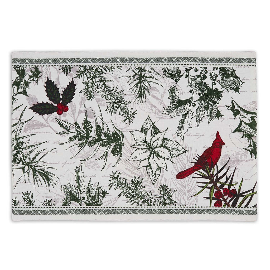 Holiday Botanical Printed Placemat