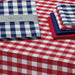 Wholesale - Nautical & White Checkers Tablecloth - DII Design Imports - 2