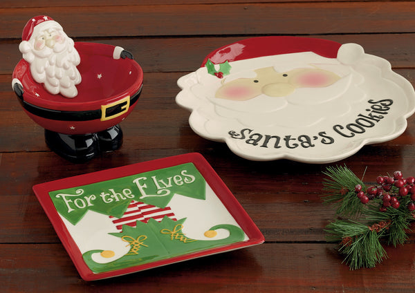 Wholesale - Santa Belly Bowl - DII Design Imports - 2