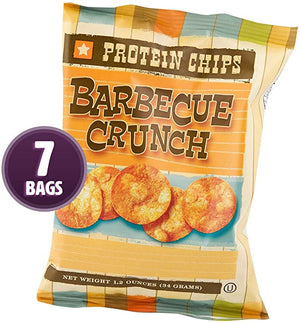 HIGH PROTEIN BARBEQUE CHIPS (Pack of 7)