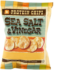HIGH PROTEIN SALT AND VINEGAR CHIPS (Pack of 7)