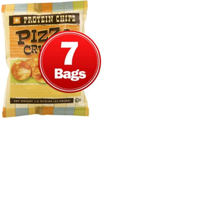 HIGH PROTEIN PIZZA CHIPS (Pack of 7)
