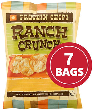 HIGH PROTEIN RANCH CHIPS (Pack of 7)