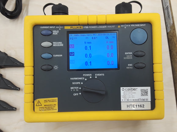 Used Fluke 1735 Power Quality Analyzer for Sale