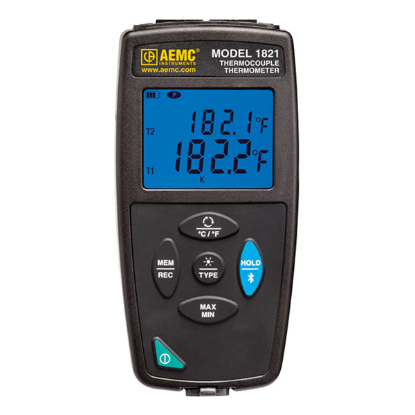 AEMC 1821 Thermocouple Thermometer Data Logger