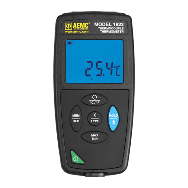 AEMC 1822 Thermocouple Thermometer Data Logger