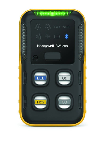 BW Icon Multi-Gas Detector, %LEL(IR) O2 H2S CO
