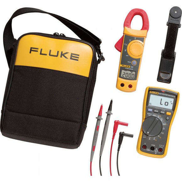 Used Fluke 117/323-KIT Electrician's Multimeter Kit for Sale