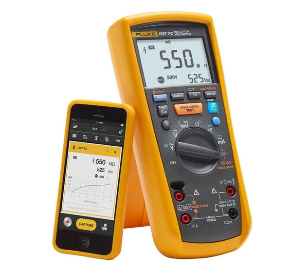Fluke 1587 FC 1kV Insulation Multimeter