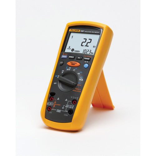 Used Fluke 1587T 50V/100V Telecom Insulation Multimeter for Sale