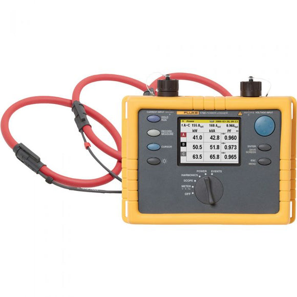 Fluke 1735 Power Quality Analyzer (Rental)