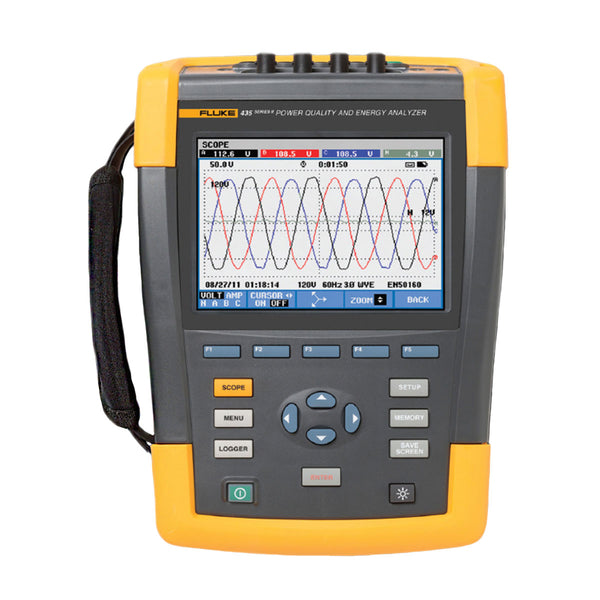 Fluke 435 II 3 Phase Power Quality Meter (Rental)