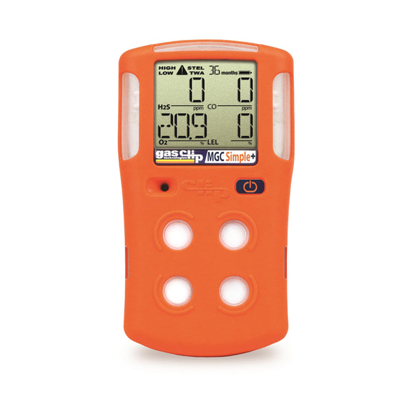 Gas Clip MGC Simple Plus 3 Year Quad Gas Detector